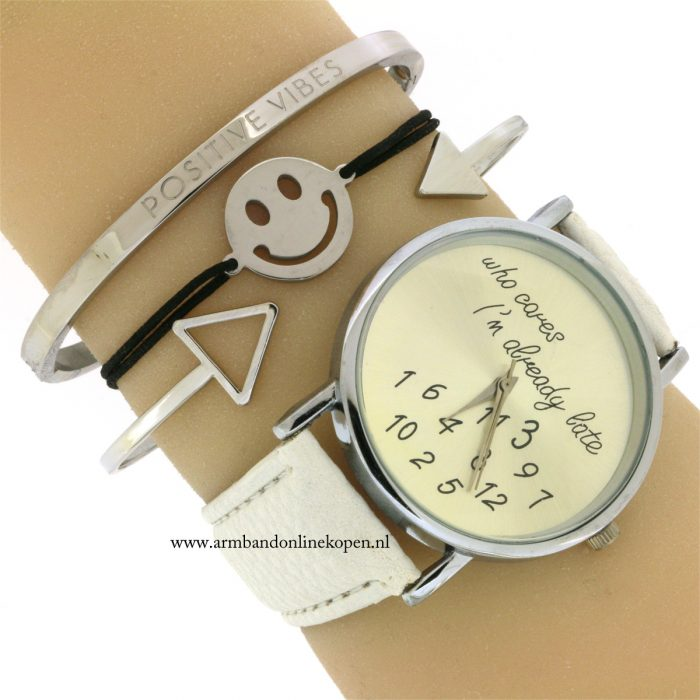 positive-vibes-quote-bangle-roestvrij-staal