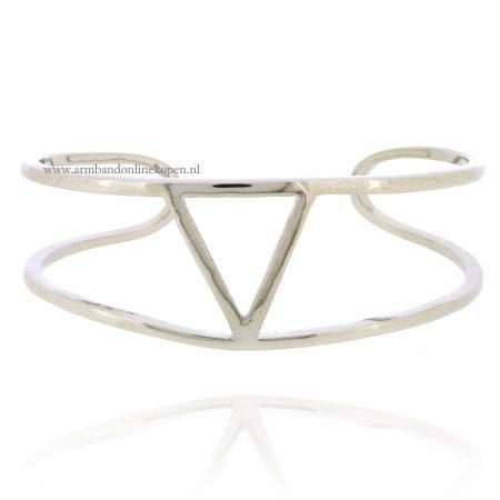 silver-triangle-cuff-bracelet