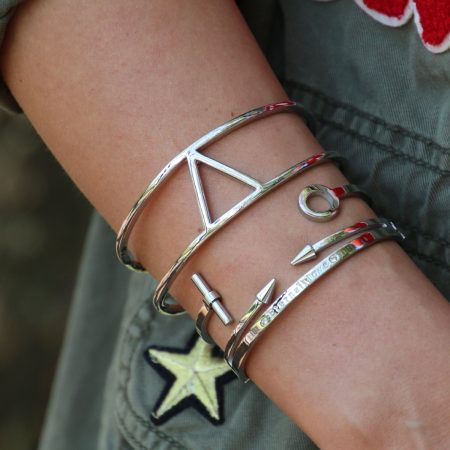 zilver-cuff-armbanden-triangle-zilver