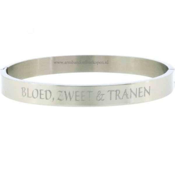zilveren armband met naam