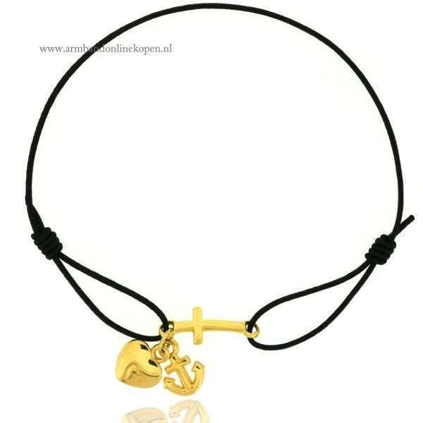 geloof-hoop-en-liefde-armbandje-goud-zwart