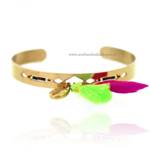 Ibiza Open Armband Tropical Escape