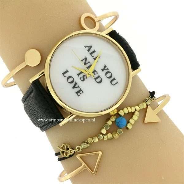 armband-boze-oog-goedkoop-kopen-goud-zwart