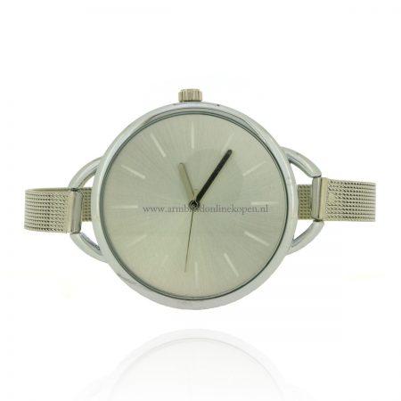 minimalistisch-horloge-zilver