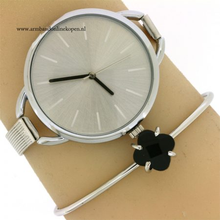 minimalistisch-horloge-zilver-kopen