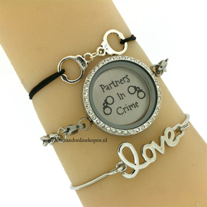 partners-in-crime-munt-armband