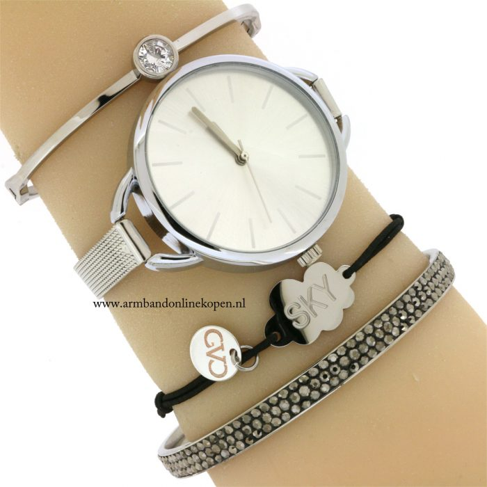 subtiel-armband-wolk-roestvrij-staal-good-vibes-only