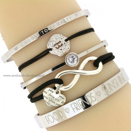 armband infinity love I will alwyas love you