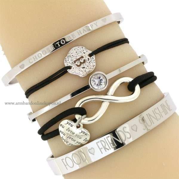 armband infinity love I will alwyas love you