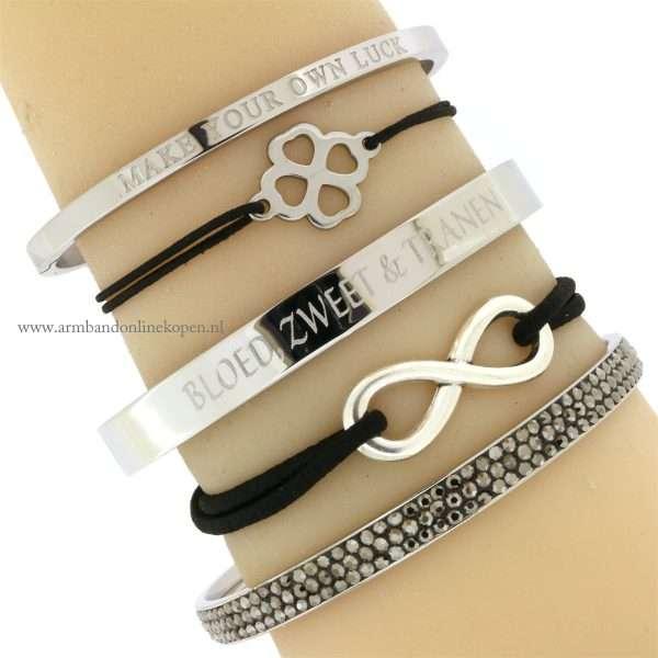 infinity armband zilver kopen