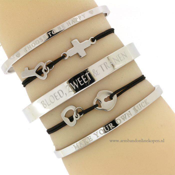 stalen armbandjes minimalistisch online kopen