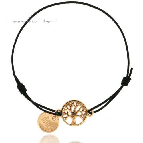 zussen armbandje Sisters for Life Bracelet Rose Goud