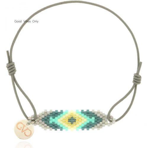 armbandjes Aztec print miyuki kraaltjes