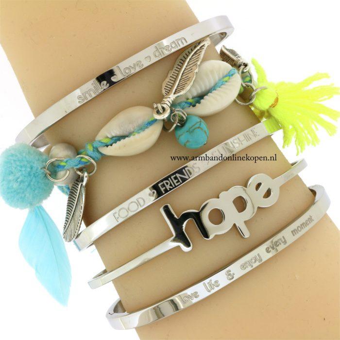 ibiza armbanden met schelpen bohemian style