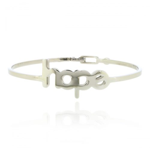 hope armband roestvrij staal good vibes only sieraden