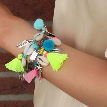 ibiza armbandjes met schelpjes 2017