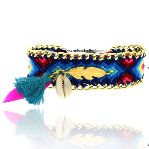 Ibiza armband met schelp Summer Vibe