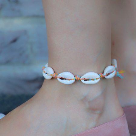 schelp armband enkelbandje met schelpen online kopen
