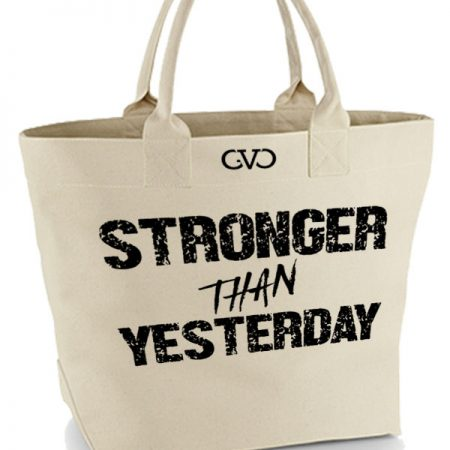 tote bag stronger than yesterday