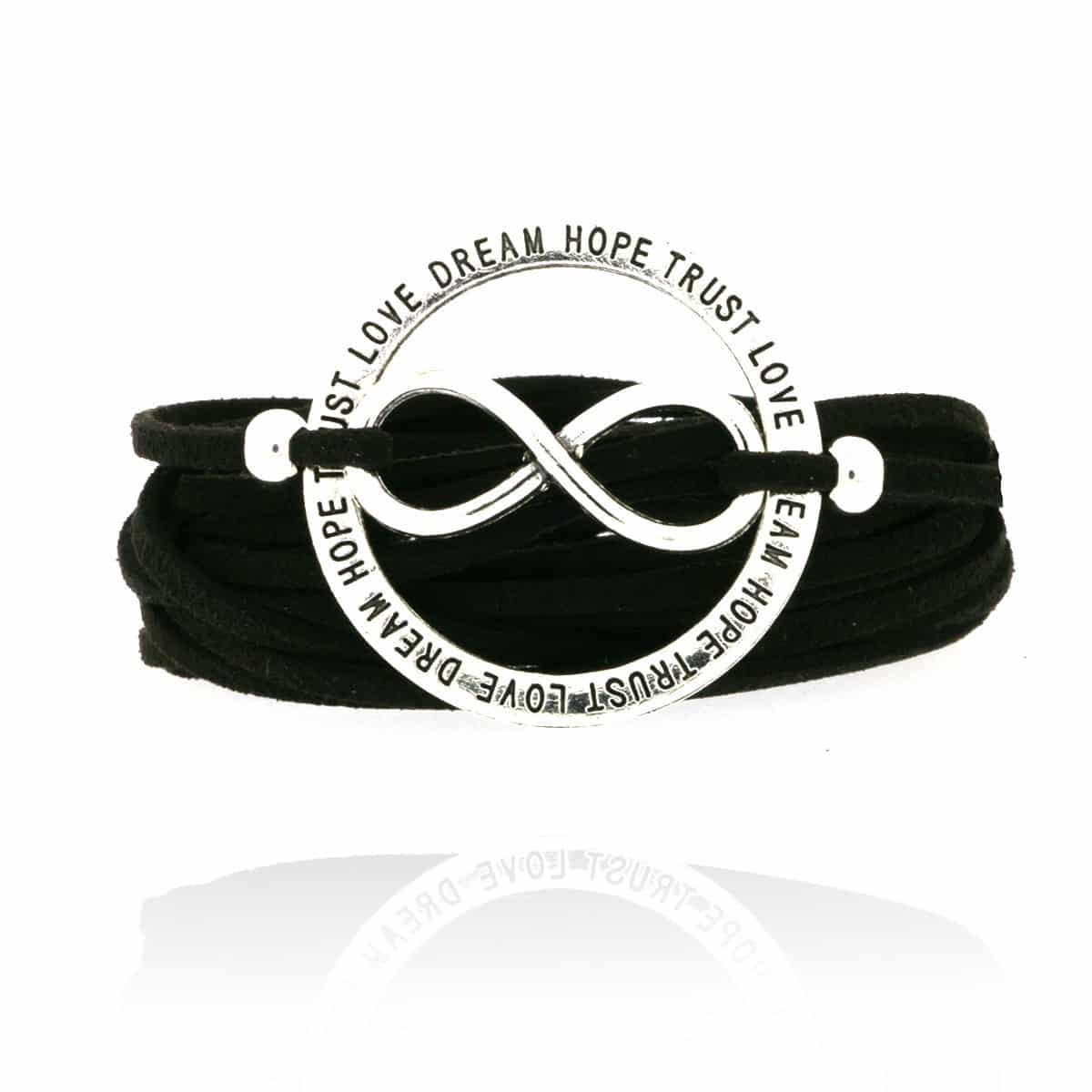 Always Dream Hope Love armband