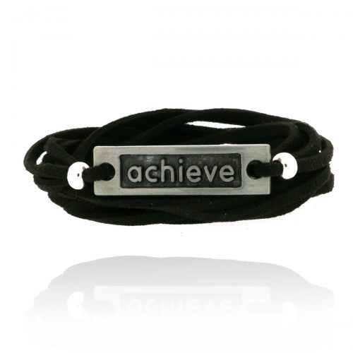 Wikkel Armband Achieve Zwart