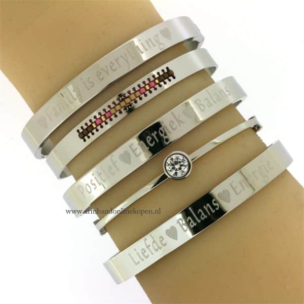 quote armbanden positief energiek balans