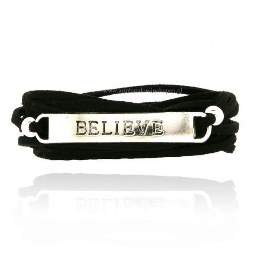 wikkel liefdes armband believe