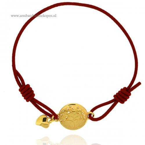 Liefdesboom Armband Goud