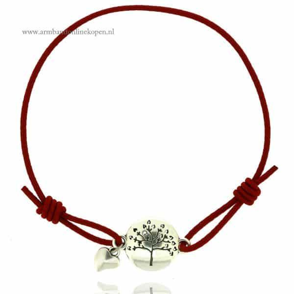Liefdesboom Armband Zilver