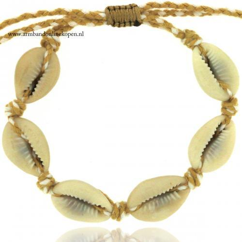 Shell Bracelet and Anklet Coconut Sunshine