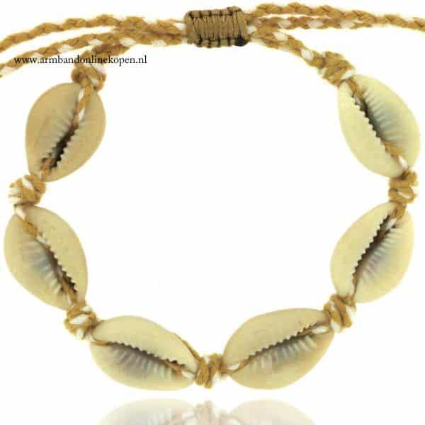 Shell Bracelet and Anklet Coconut Sunshine