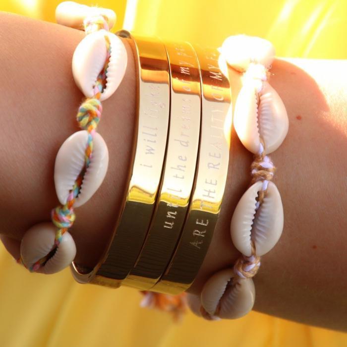 ibiza armbandjes met schelpjes 2018