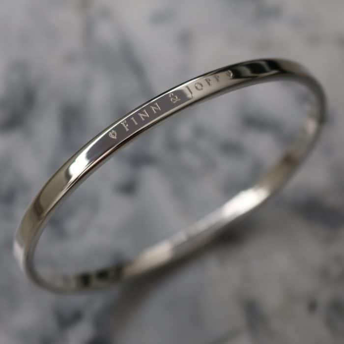 naam armband zilver 925