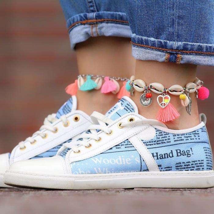 hippe enkelbandjes 2018 met schelpjes en bedels