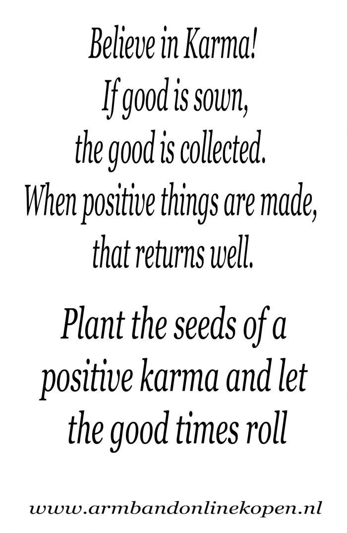 positive karma