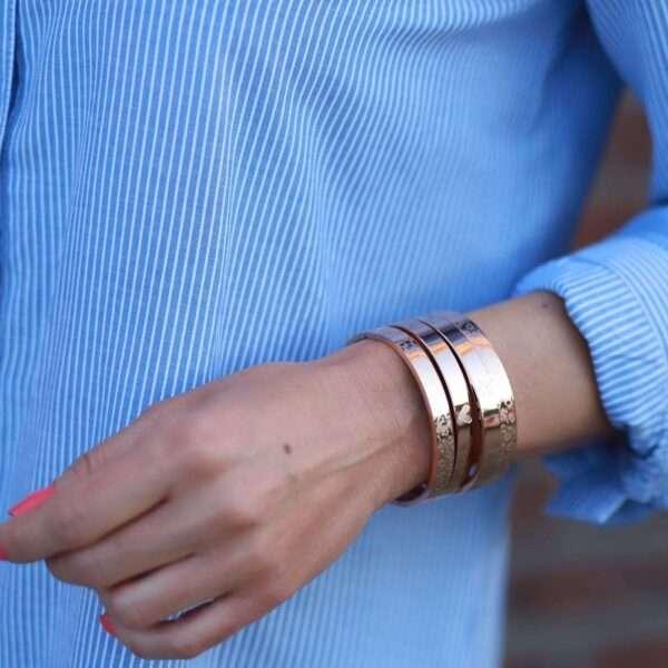 stalen armbanden panterprint online kopen