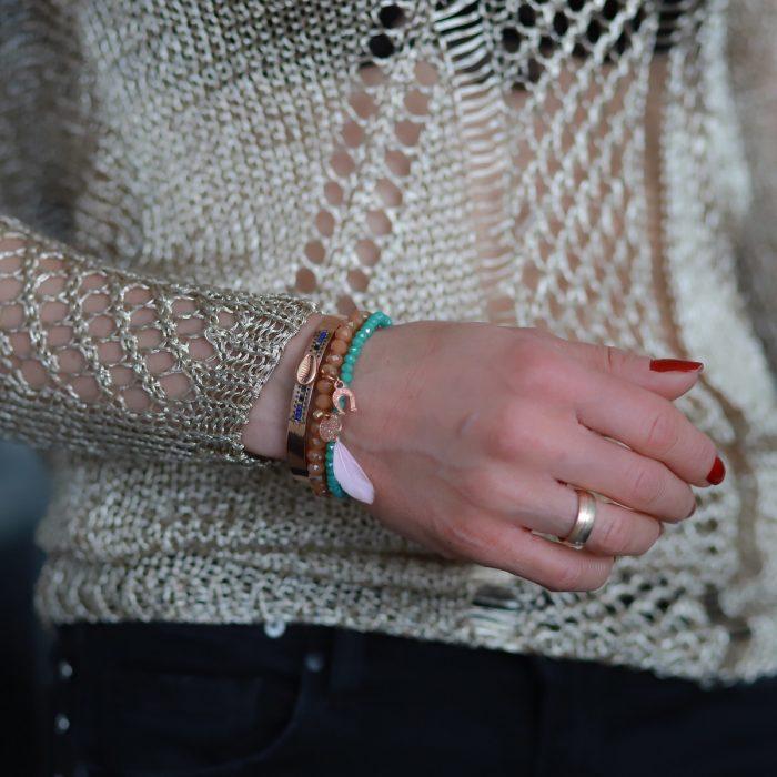 Munt Armbandje Turquoise