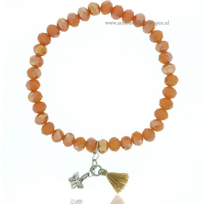 Vlinder Armbandje Zilver honing