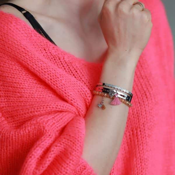 Vlinder Armbandje Zilver roestvrij staal good vibes only armbanden