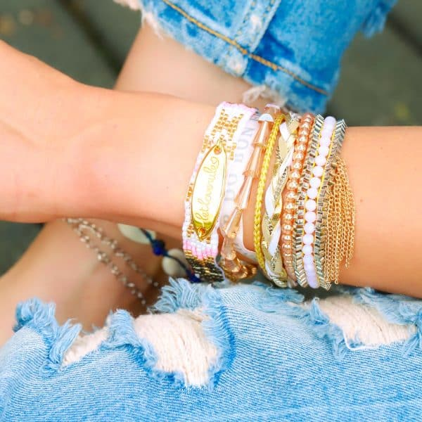 Ibiza Armband Let Love Rule armparty