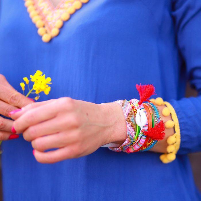 ibiza armbanden met schelpen