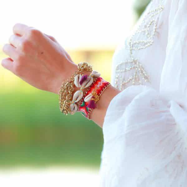 armparty ibiza armbanden met schakels