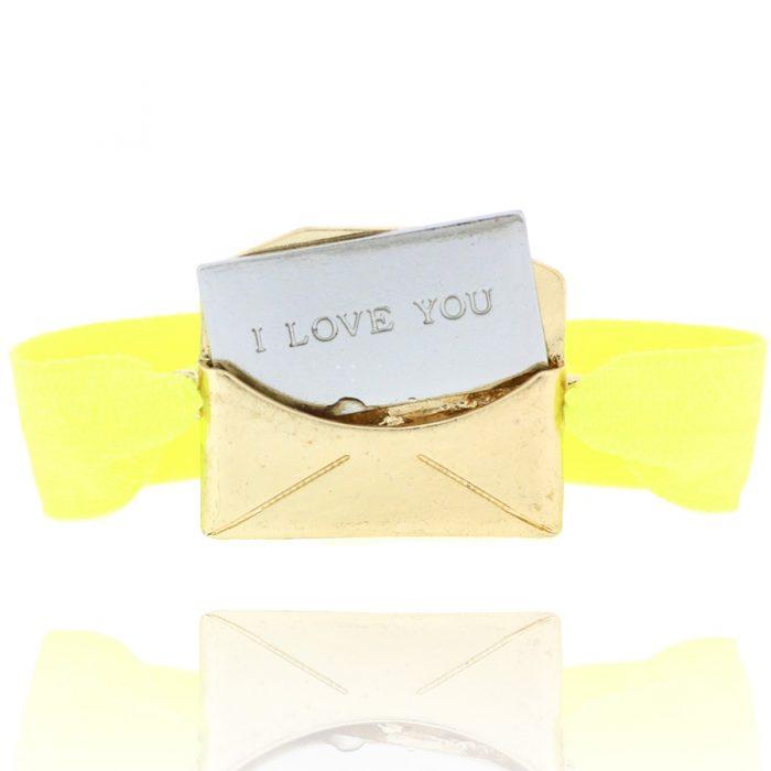 love letter armband I love you