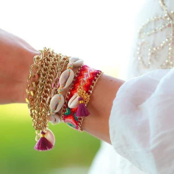 schakels ibiza armbanden boho details