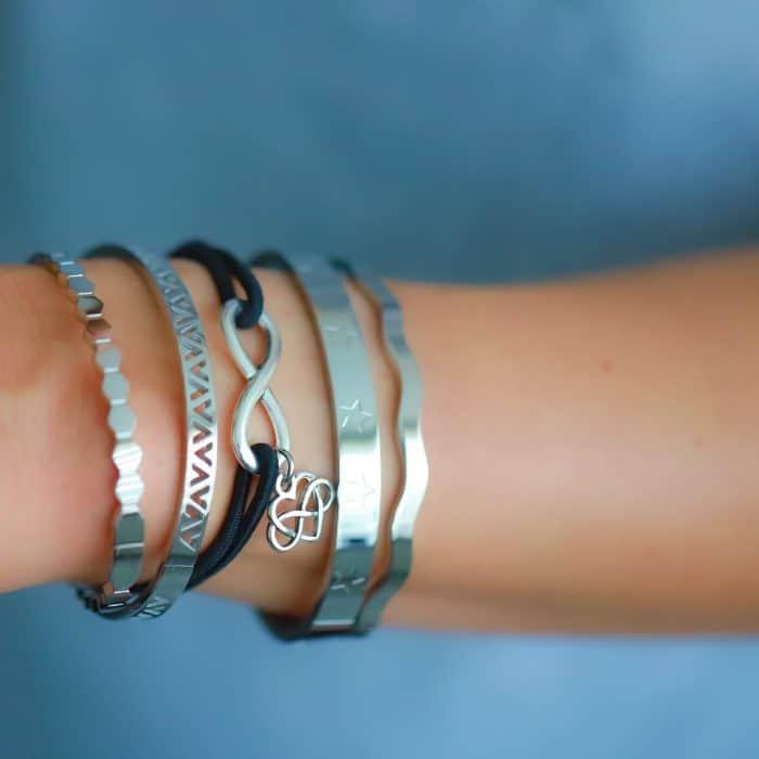 Oneindige Liefde Armband infinity symbool hartje