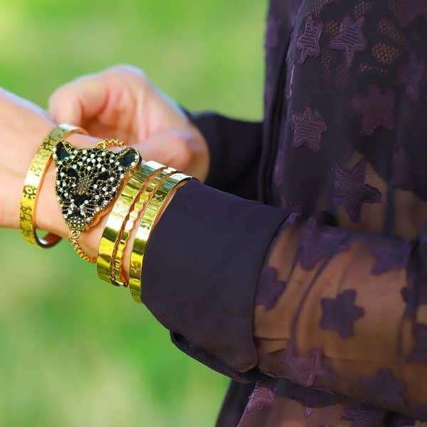 armband tijger goud met extra betekenis