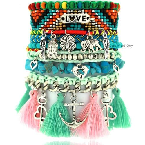 Ibiza Armband Love is my Anchor online kopen
