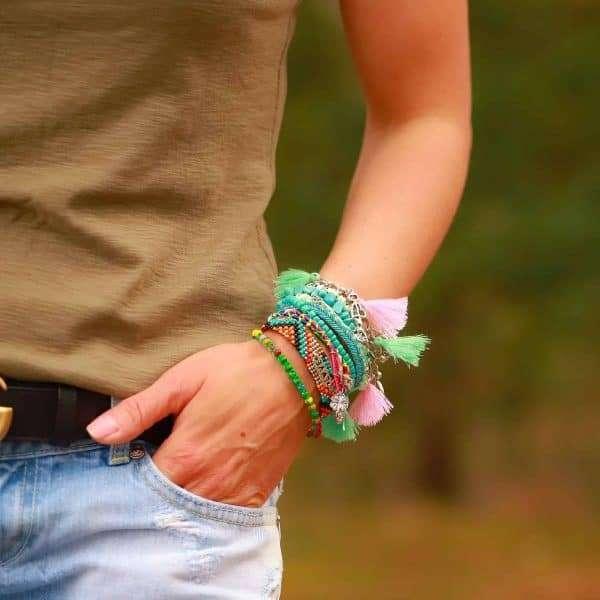 anker liefde armband