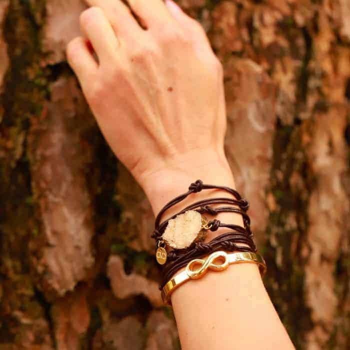 infinity armband staal armparty