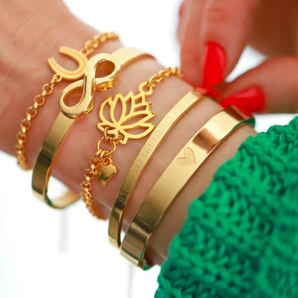 zussen armband staal sisters are the perfect best friends quote
